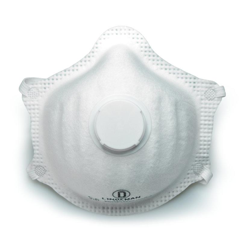Mascarilla LD802V - FFP2 moldeada con valvula